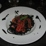 Seppia Ink Pasta with Ricci