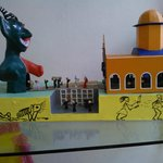 Miniature parade from hell to heaven