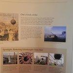история часового шара на шпиле монумента
