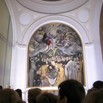 Toledo Iglesia Santo Tome - El Entierro