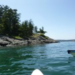 Starting out around Lopez Island