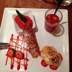 Déclinaison de fraise