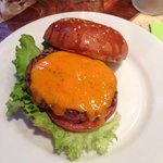 Burger simple au fromage