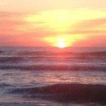 Sunrise from Cocoa Beach