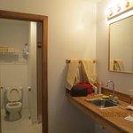 il bagno della camera