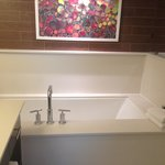 beautiful bathroom, big tub for relaxation