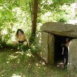 Cavemen at Wookey Hole