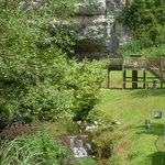 Lovely grounds at Wookey Hole