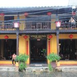 The front of Vinh Hung hotel