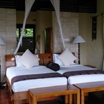beds in villa #3