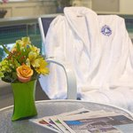 Relax in one of our robes.