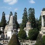 Uno sguardo sul cimitero