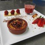 Farandole de desserts à la fraise