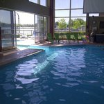 Indoor/Outdoor pool was awesome!
