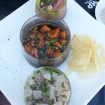 Ceviche sampler (you pick 3 of 5)