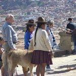 Vista desde una parada en el citi tour por Cusco.