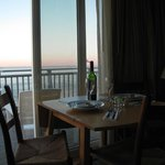 Romantic in-room dining!