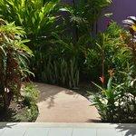 Garden in Garden Bungalow