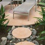 Sunbathing Chairs of Garden Bungalow