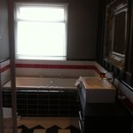 Nice bathroom complete mismatch to bedroom