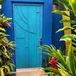 Door to the Garden Bungalow