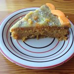 amazing vegan apricot cake