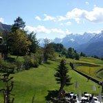 Sicht aus Hotelzimmer Richtung Bos-Cha