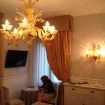Schöner Leuchter aus Murano-Glas