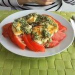 antipasti - pomodori alla menta
