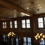 Ceiling of lobby