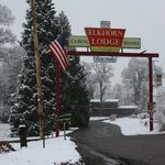 Elkhorn Lodge in the winter