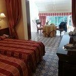 Suite bedroom and mezzanine