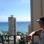 Ocean view room on the balcony