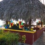 cocktailbar aan het strand