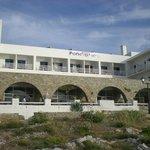 L'hôtel Pandrossos