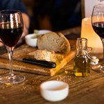 Wine and bread, a great combo!