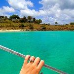 Where we anchored - Shell Beach