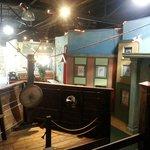 Inside the Exploration Ship