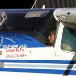 My wee pilot!