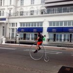 the cavendish hotel complete with penny farthing