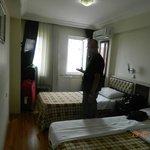 Dobbelt værelse, ikke meget gulvplads