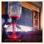 Pour Over Bar at Tinderbox Coffee Roasters in Westport, WA