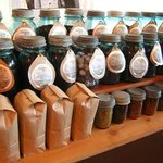 100+ loose leaf teas and 10+ roasts to choose from