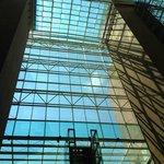 Lobby windows