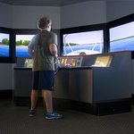 Pilot your own boat in our simulator!