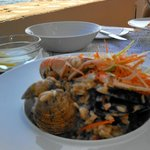 Seafood risotto on the Dalmatian Coast at Casa Restaurant