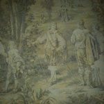 Original tapestry in the hall