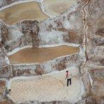 Close up of Salt Mines