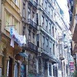 The streets around Galata Tower