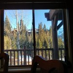 This appears to be the view from most rooms in the lodge